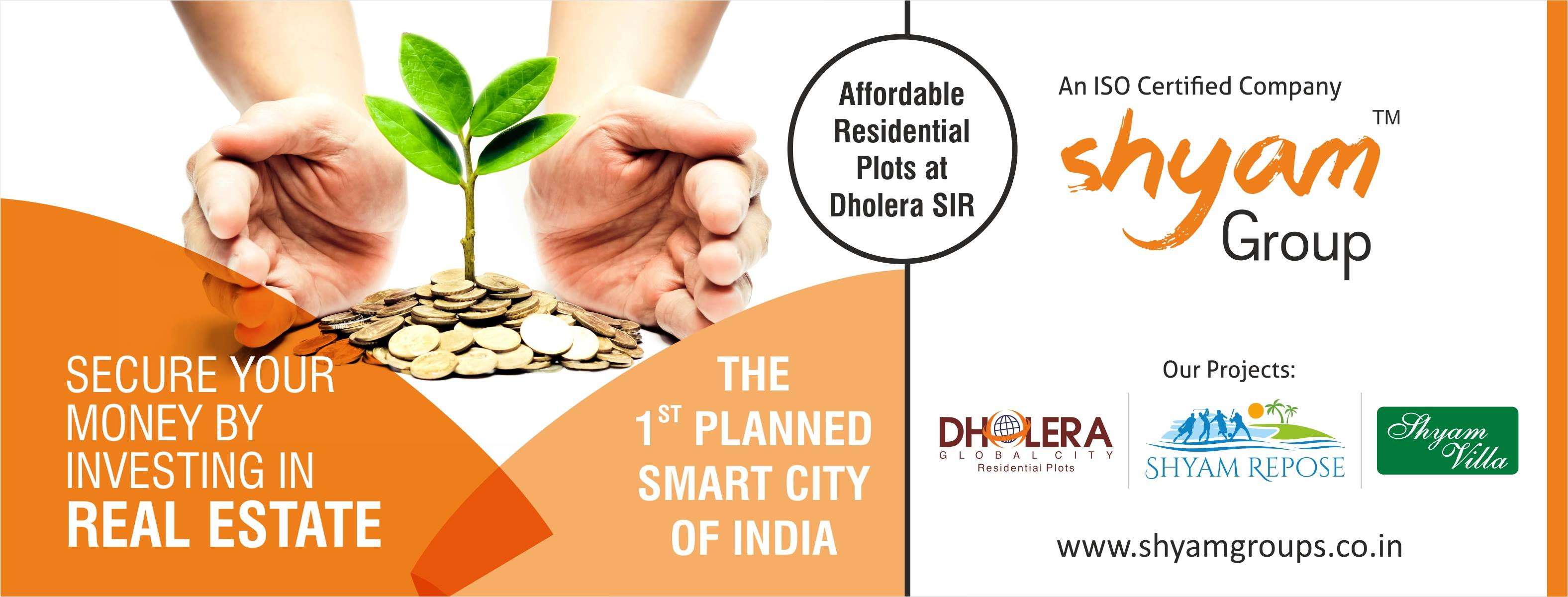 Shyam Group The Real Estate Developers at Dholera SIR
