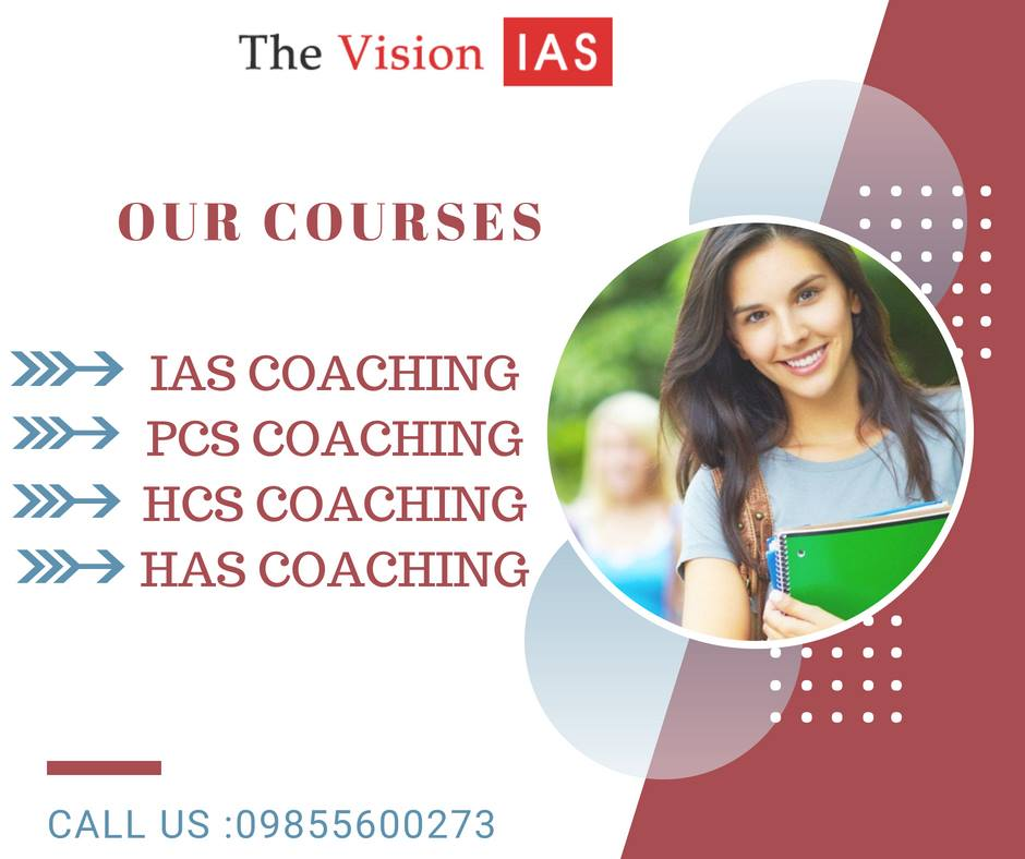 The Vision IAS - Best IAS Coaching Institute in Chandigarh