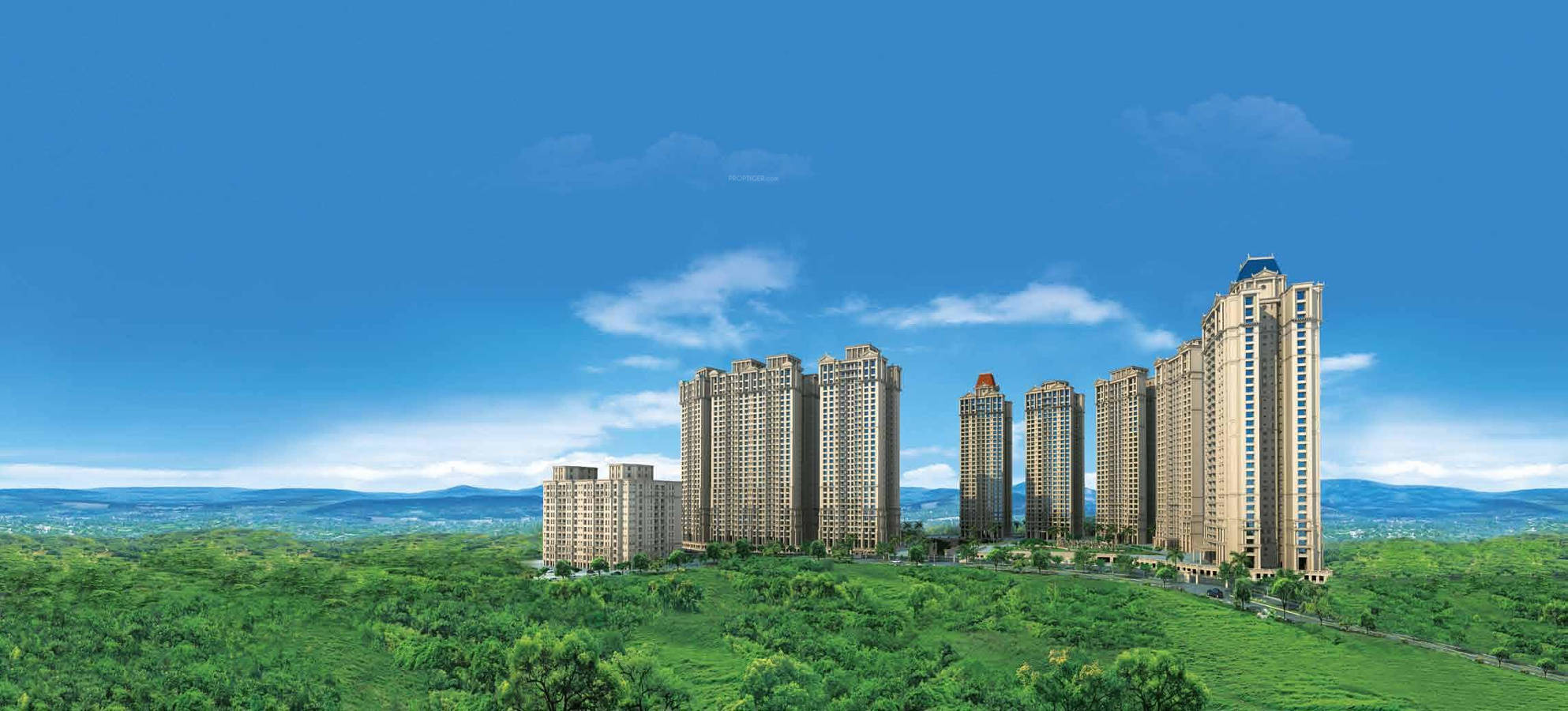 1, 2 & 3 BHK Flats in Panvel Mumbai | Hiranandani Fortune City