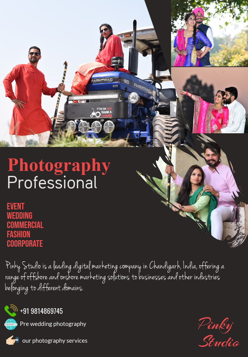 Photography services in Zirakpur