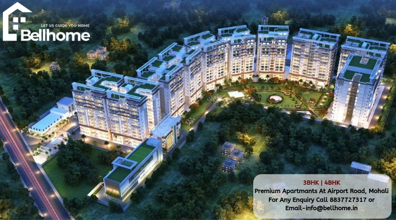 4BHK flats in Chandigarh - Bellhome