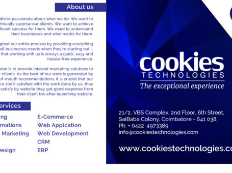 Cookies Technologies | Web Design Companies & Service