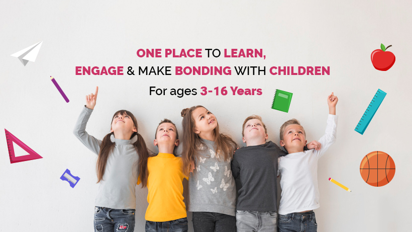 Best app to make bonding with children with learning