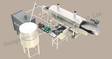 Potato Chips Plant, Potato Chips Making Machine, Manufacturers, Suppliers, India
