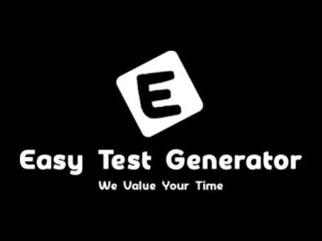 Easy Test Generator – Online Question Paper Maker