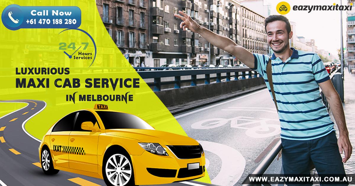 Maxi Taxi Booking Melbourne