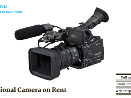 Camera on Rent in Delhi