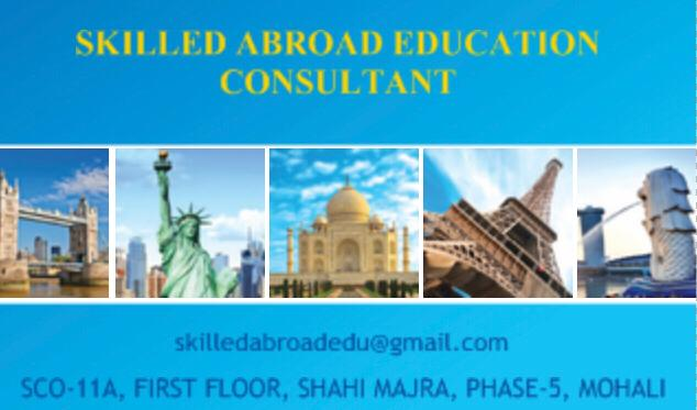 Skilled Abroad Education Consultant