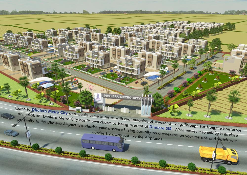 Dholera Sir Residential Plots Gujarat