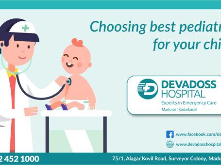Best Children hospital in madurai – Devadoss Multispeciality Hospital