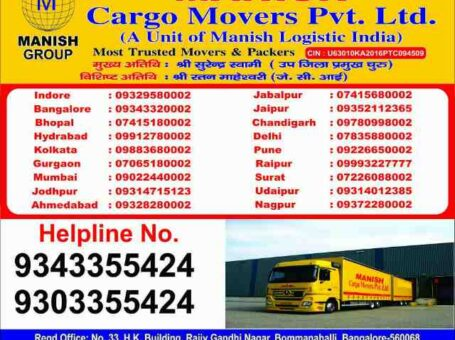Top 5 Packers and Movers in Indore – Call 09303355424