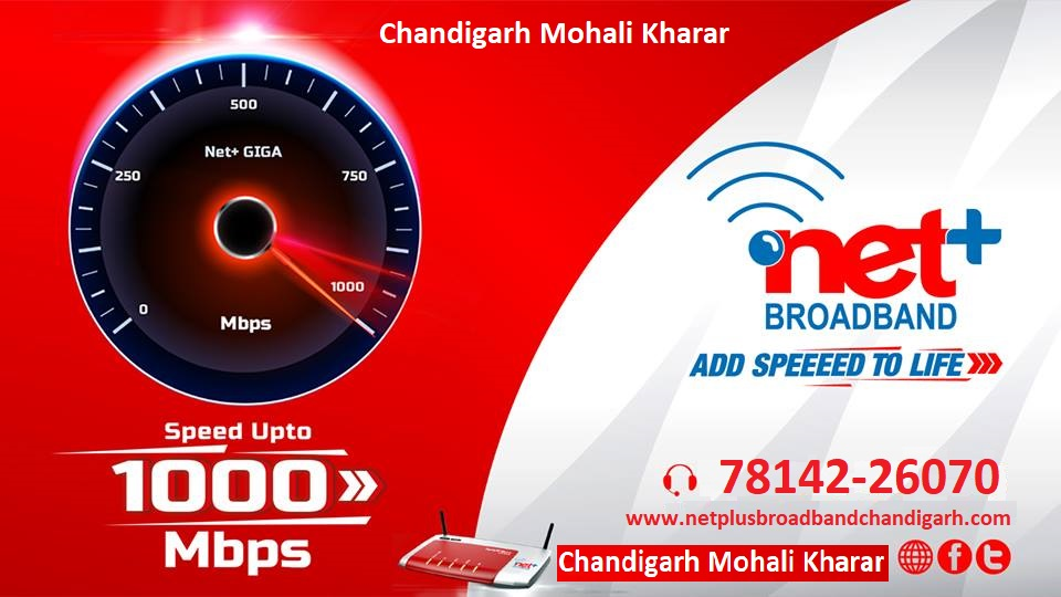 Netplus Broadband - Best Broadband Connection in Chandigarh Mohali Mohali