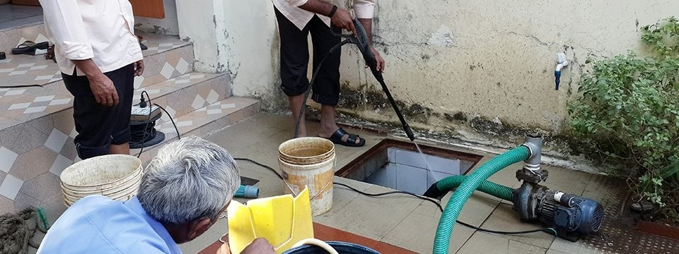 CleanDin - Water tank cleaning services in Chandigarh