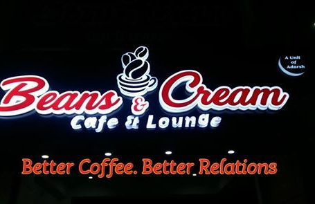 Bean's & Cream Cafe & Lounge- The Best Cafe for Couples in Dehradun