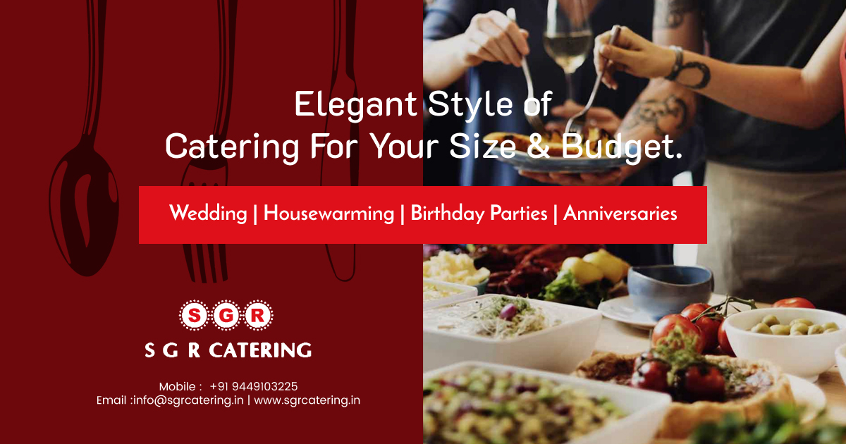 SGR Catering - Best Veg Caterers in Bangalore | Wedding Caterers in Bangalore