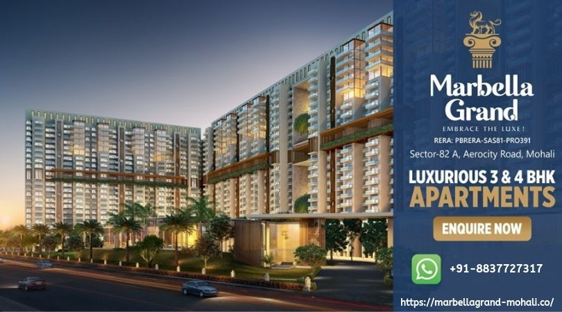 Ready to move 2/3/4 BHK Flats in Mohali
