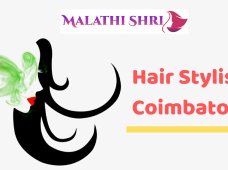 Famous hairstylist in coimbatore, lady bridal hairstyle and spa in coimbatore