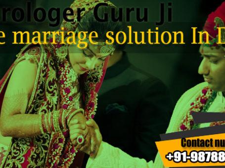 Love marriage solution in Delhi
