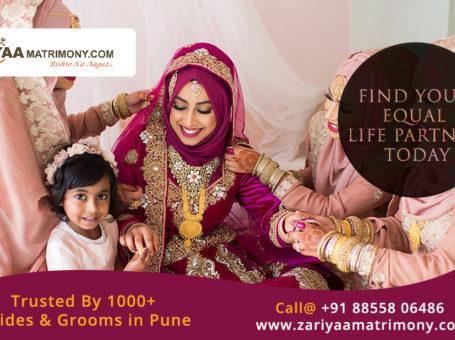 Zariyaametrimony – A Genuine Muslim Matrimony in Pune