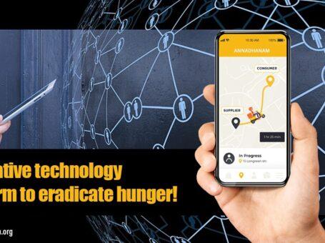 Solving hunger through technology