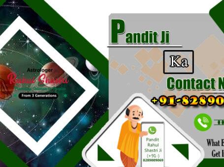 Pandit Ji Contact Number